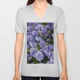 Pansy flower Unisex V-Neck