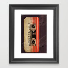 Awesome mix vol. 3 Framed Art Print
