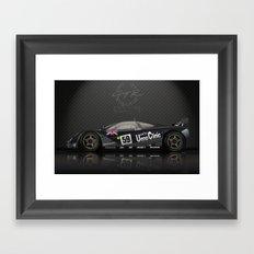 1995 Le Mans Winning McLaren F1 GTR #01R Framed Art Print
