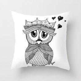 Owl Love You Throw Pillow