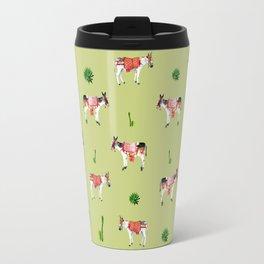 donkeys and cactuses Travel Mug