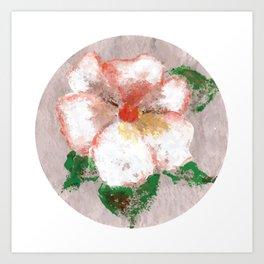 Flor X (Flower X) Art Print