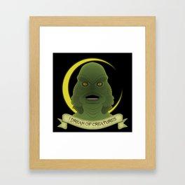 I Dream of Creatures Framed Art Print