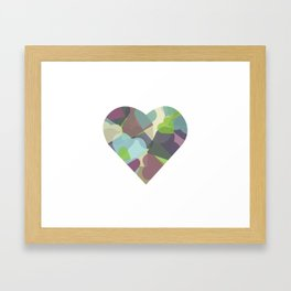 HEARTFUL Framed Art Print