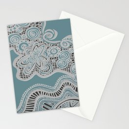 Just a Squiggle Here and There Stationery Cards