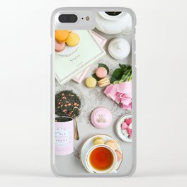 Flat lay Clear iPhone Case
