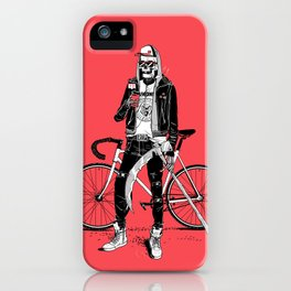 Cool Death iPhone Case