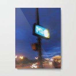 Pont Neuf in Paris (2008c) Metal Print