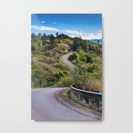 The Road To Greatness Kauai Hawaii Metal Print