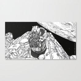 20XX: A SpaceX Odyssey Canvas Print