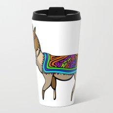 Lofty Llama Metal Travel Mug
