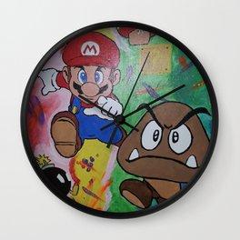 Mushroom World Wall Clock