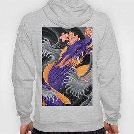 Purple Dragonkoi with Sakura Hoody