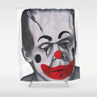 be happy Shower Curtains featuring Happy by Elena O'Neill