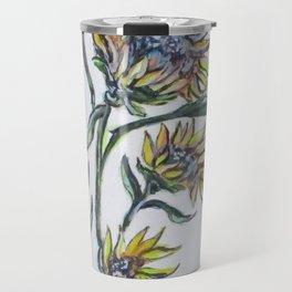 Sunflower Crazy Travel Mug