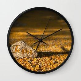 My Rock Wall Clock