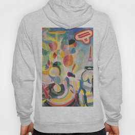 "Robert Delaunay ""Homage to Blériot"" (study) Hoody"