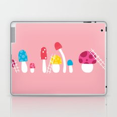 Mushroom Maintenance Pink Laptop & iPad Skin
