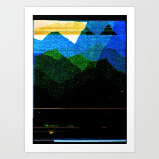 Distraction Art Print