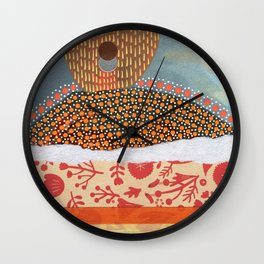 Saluti Dal Futuro 132 Wall Clock