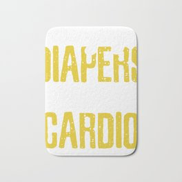 Changing Diapers is my Cardio Bath Mat