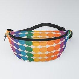 Rainbow Overprint Fanny Pack