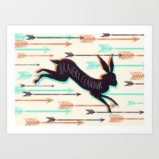 Bravery Flavour  Art Print