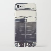 mercedes iPhone & iPod Cases featuring Benz by farsidian