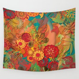 Pumpkin Carving Time Wall Tapestry