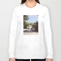 hollywood Long Sleeve T-shirts featuring Hollywood, California by Kevin Russ