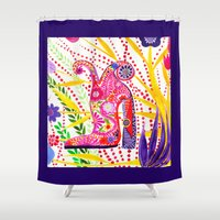 shoe Shower Curtains featuring My shoe! by ioannart