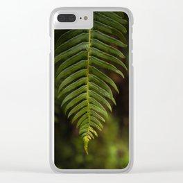 Fern II Clear iPhone Case