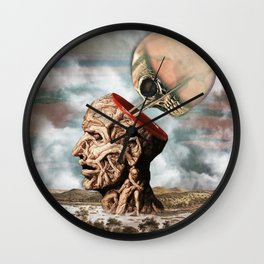 I Have Cultivated My Hysteria With Pleasure And Terror Wall Clock