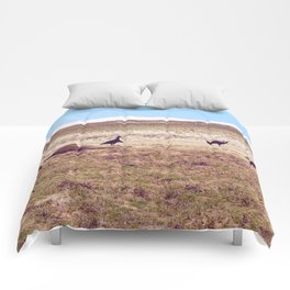 Vultures on Donkey Comforters