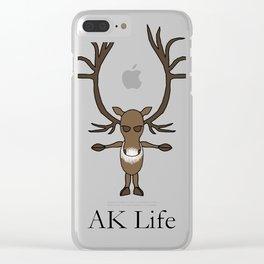 AK Life Caribou Clear iPhone Case