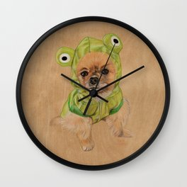Littlle Greenie Wall Clock