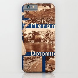 Advertisement Merano Dolomites Venice Lido Lake Garda Italy iPhone Case