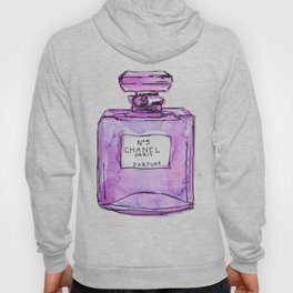 perfume purple Hoody