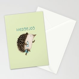 Hedgejog Stationery Cards