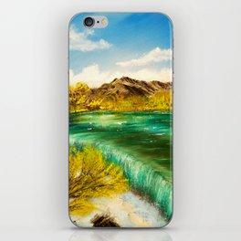 Emerald Falls iPhone Skin