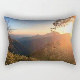 Kings Canyon Sunset Rectangular Pillow