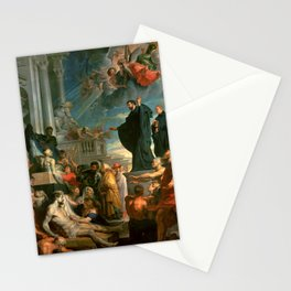 """Peter Paul Rubens """"The miracles of St. Francis Xavier"""" Stationery Cards"""