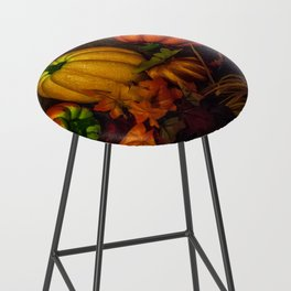 Autumn Pumpkins Bar Stool