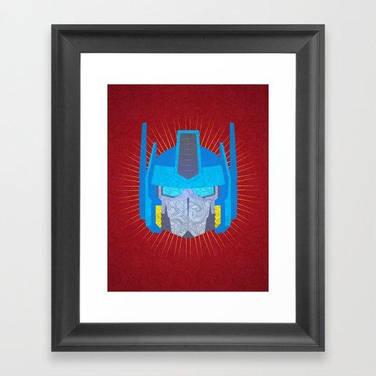 Optimus Framed Art Print