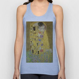 The Kiss by Gustav Klimt Unisex Tank Top
