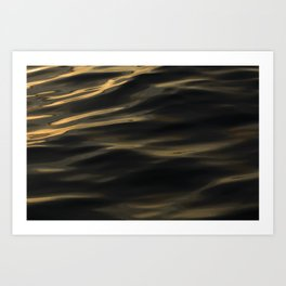 Painted by the Sea III Art Print