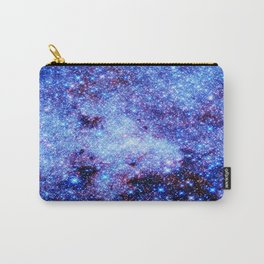 GAlaxy Periwinkle Stars Carry-All Pouch