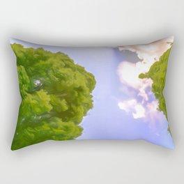 Tree Art One Rectangular Pillow