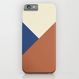 Origami geo tile // Multi-color iPhone Case