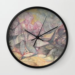 Epicia and Maffick Wall Clock